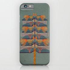 Lovebirds in a tree iPhone 6s Slim Case