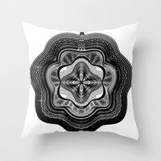 Spirobling XXI Throw Pillow