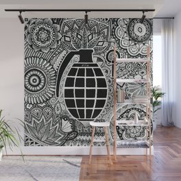 Fire in the hole !  Wall Mural
