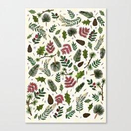 Winter Foliage  Canvas Print