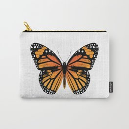 Monarch Butterfly | Vintage Butterfly | Carry-All Pouch