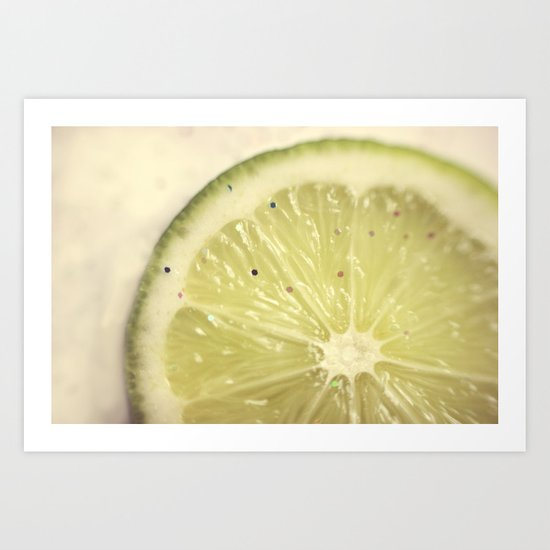 Sour Sparkles Art Print