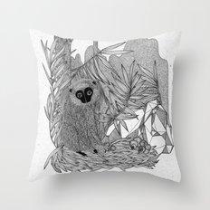 manki manki Throw Pillow