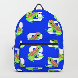 Frogs For Sunday in August Backpack