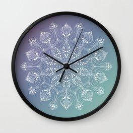 Jellyfish mandala Wall Clock