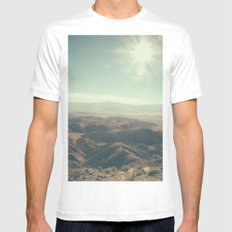 Until we meet again in the unknown MEDIUM White Mens Fitted Tee