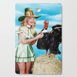 Barbara Bates, Vintage Actress and Pinup Cutting Board