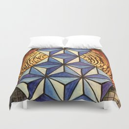 Geo Space Duvet Cover