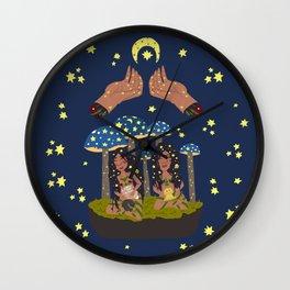 Magic Sisters Wall Clock