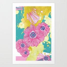 So long, petal. Art Print