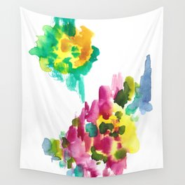 180802 Beautiful Rejection 15 | Colorful Abstract Wall Tapestry