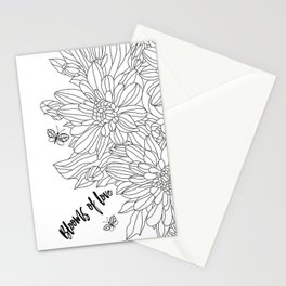 Blooms of Love_Ivory Stationery Cards