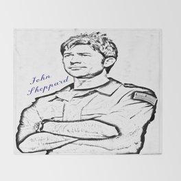 John Sheppard Throw Blanket