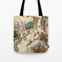 Constellation Chart 1693f Tote Bag