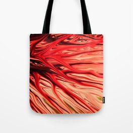 Strawberry Firethorn by Chris Sparks Tote Bag