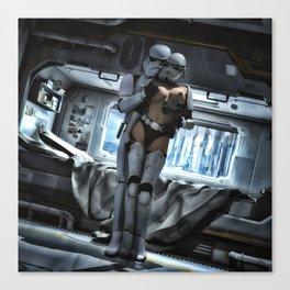 Sexy Sci-Fi 3 Canvas Print