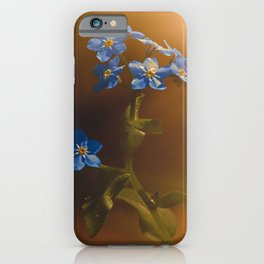 Woodland Forget-Me-Not iPhone Case