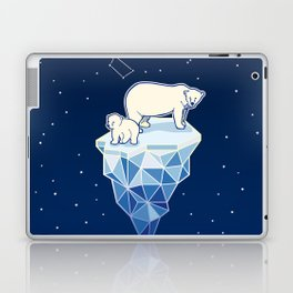Polar bears on iceberg Laptop & iPad Skin