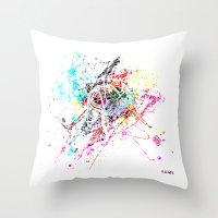 rome Throw Pillows featuring Rome by Nicksman