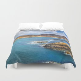 View from Ardnamurchan Duvet Cover