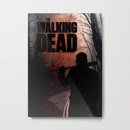 The Walking Dead - Negan Metal Print