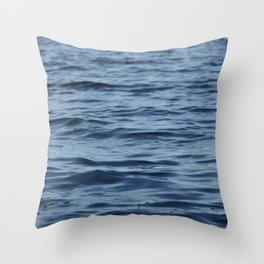 Water A Throw Pillow
