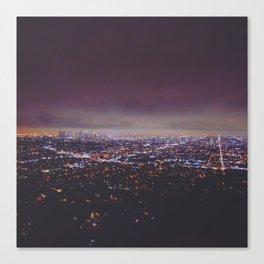 Smokey Skyline Canvas Print