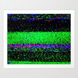 CRT_01 Art Print