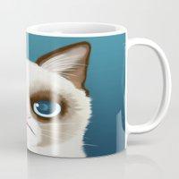 grumpy Mugs featuring Grumpy by StudioMarimo