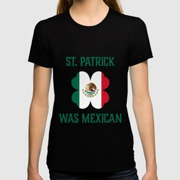St Patrick's Day Irish Clover Mexican product T-shirt