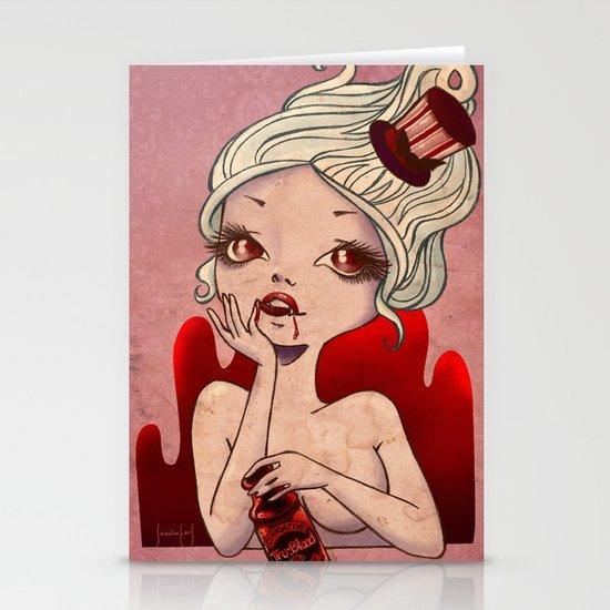 True Vampire Stationery Cards