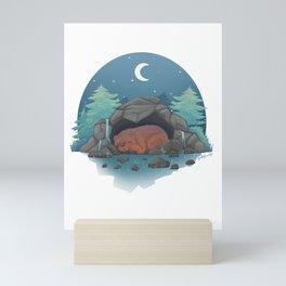 Cosy Cave Mini Art Print
