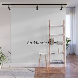 Do i. With Love. Typewriter Style Wall Mural
