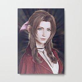 Aerith Final Fantasy VII Metal Print