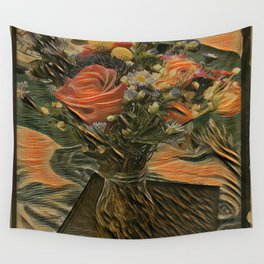 Country Satin Wall Tapestry
