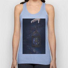 Surrealism Fantasy Earth Unisex Tank Top