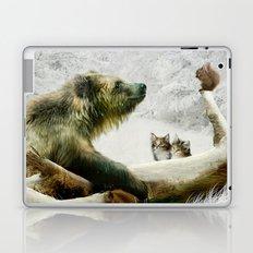 Bear, Squirrel and Kitten Laptop & iPad Skin