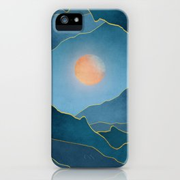 Surreal sunset 03 iPhone Case