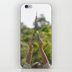 The World On My Shoulders iPhone & iPod Skin