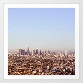 Downtown Los Angeles Skyline - Los Angeles Iconic Art Print