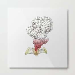 The Book Metal Print