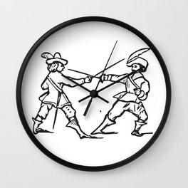 Musketeers Wall Clock