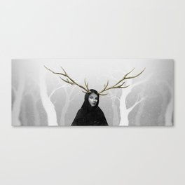 Winter fable Canvas Print