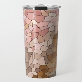 Skin Tone Mosaic Travel Mug