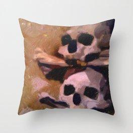 Bone Church, Kutna Hora Throw Pillow