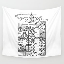 KYOTO Wall Tapestry