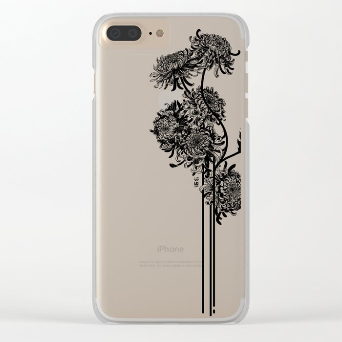 chrys.anthem Clear iPhone Case