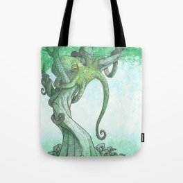 Fish Are Stupid Tote Bag