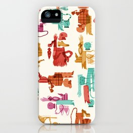 Costume Collage iPhone Case