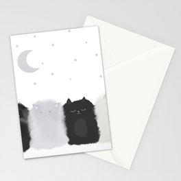 Sleep like Cats Stationery Cards